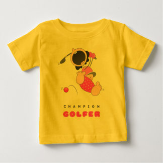Funny Baby Golf Baby T-Shirt