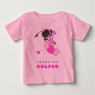 Funny Baby Golf | Funny Cartoon Golfer | Funny Baby T-Shirt