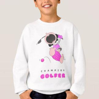 Funny Baby Golf | Funny Cartoon Golfer | Funny Sweatshirt