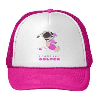 Funny Baby Golf | Funny Cartoon Golfer | Funny Trucker Hat