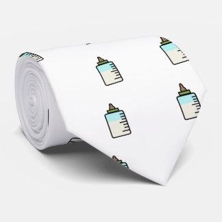 Funny Baby milk bottle tie