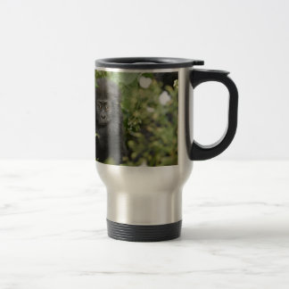 funny baby mountain gorilla, beringei beringei mugs