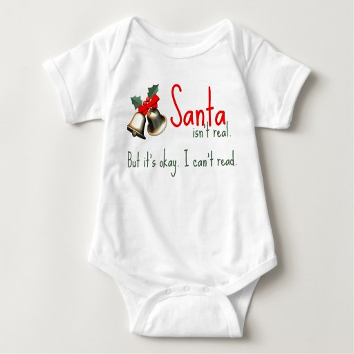 Funny Baby Santa Outfit T Shirts