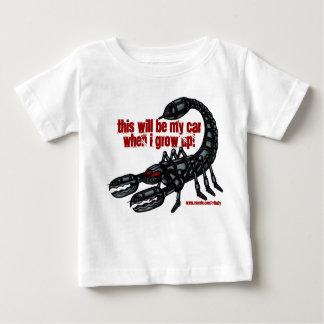 Funny baby scorpion battle walker t-shirt