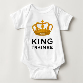 Funny Baby Shirt KING OF Baby Shower Gift Idea