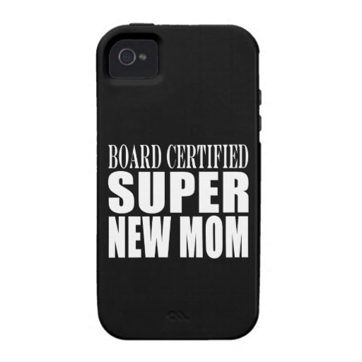Funny Baby Showers New Mothers : Super New Mom iPhone 4/4S Covers