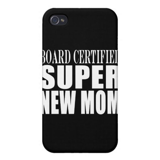 Funny Baby Showers New Mothers : Super New Mom Case For iPhone 4