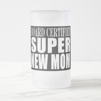Funny Baby Showers New Mothers : Super New Mom Mug