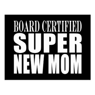 Funny Baby Showers New Mothers : Super New Mom Postcard