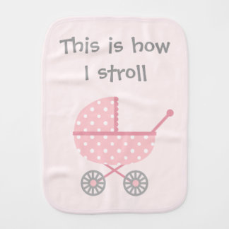 Funny Baby Stroller For newborn Girl Burp Cloth