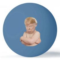 Funny Baby Trump Ping Pong Ball