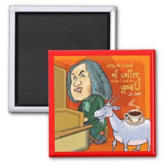 Funny Bach Composer Magnet