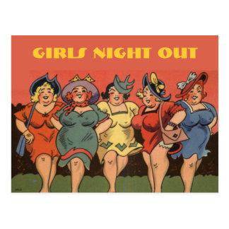 funny bachelorette party,bridal shower,hen .... postcard