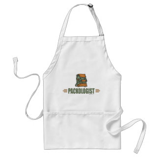 Funny Backpacking Adult Apron