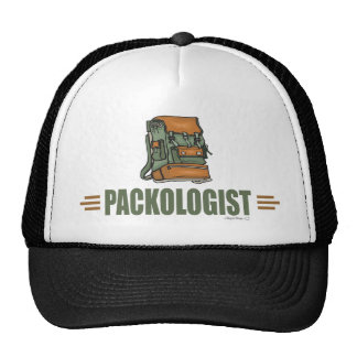 Funny Backpacking Trucker Hats