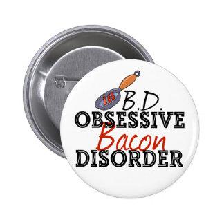 Funny Bacon Button