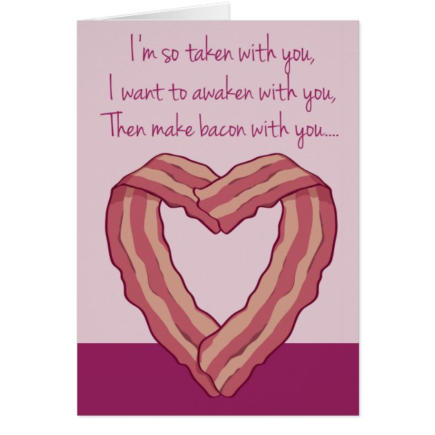 Funny Bacon Card Poem For ...