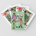 Funny Bacon & Eggs Food Playing Cards