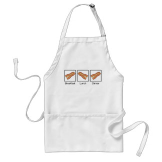 Funny Bacon for Breakfast, Lunch and Dinner Aprons