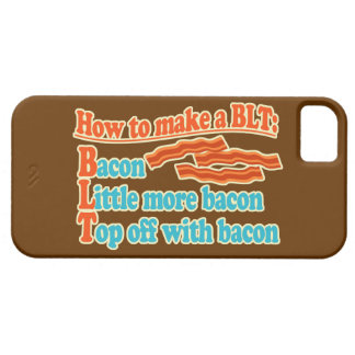 Funny Bacon Humor BLT Sandwich iPhone 5 Covers