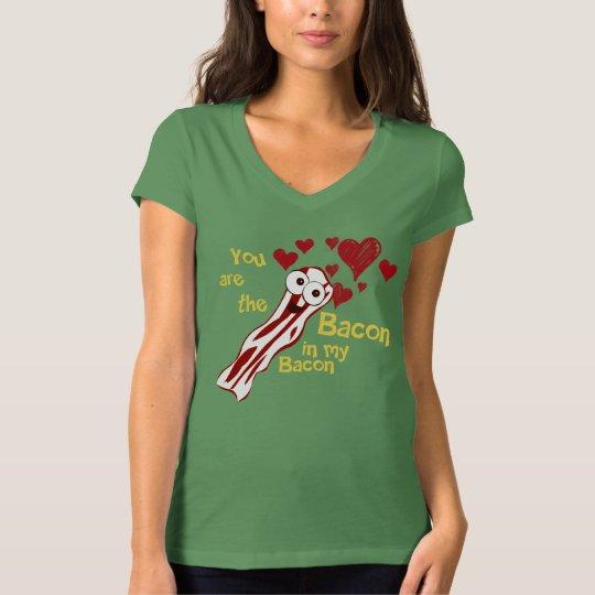 Funny Bacon Love Shirt