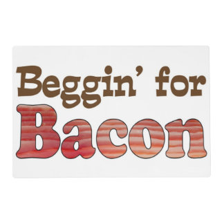 Funny Bacon Placemat