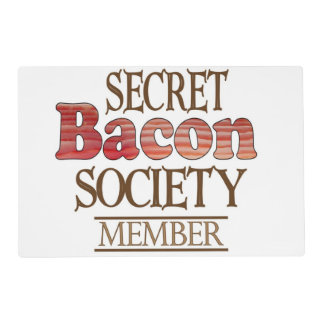 Funny Bacon Reversible Placemat