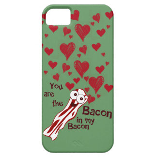 Funny Bacon Valentine s iPhone 5 Case
