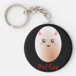 Funny Bad Egg Key Chain