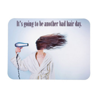 Funny Bad Hair Day magnet