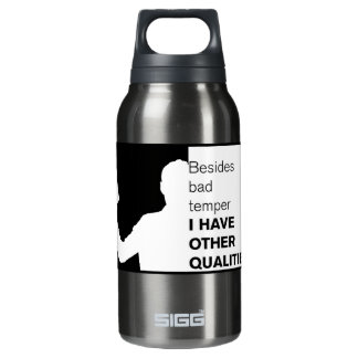 Funny Bad Temper Insulated Water Bottle