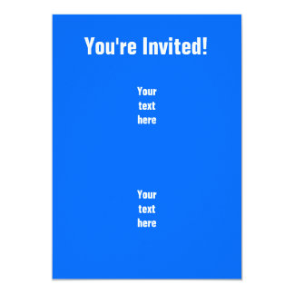 "Funny Badminton Shuttlecock 5"" X 7"" Invitation Card"