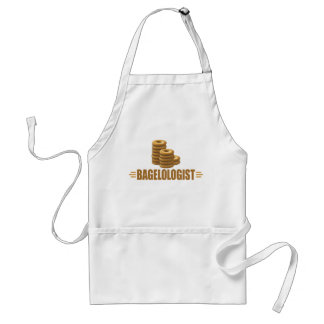Funny Bagel, Bakery Adult Apron