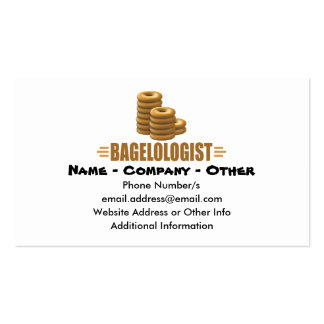 Funny Bagels Business Card