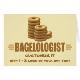 Funny Bagels Card
