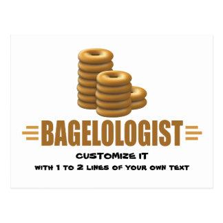 Funny Bagels Postcard