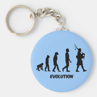 Funny bagpipes key chain