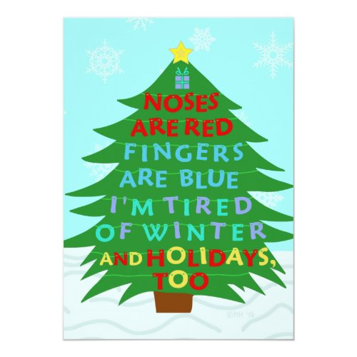 Top 50 Funny Christmas Party Invitations 2015 – Christmas Party Poem Invitation