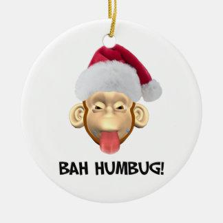 Funny Bah Humbug Ornament