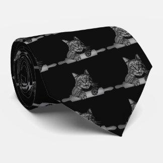 funny baker Cat Purrfect Neck Tie