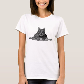 funny baker Cat Purrfect T-Shirt