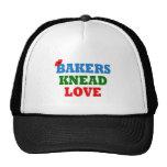 Funny Bakers Need (Knead) Love Mesh Hats