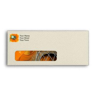 Funny baketball envelope