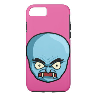 Funny Bald Blue Demon iPhone 7 Case