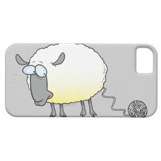 funny ball of yarn cloned sheep cartoon iPhone SE/5/5s case
