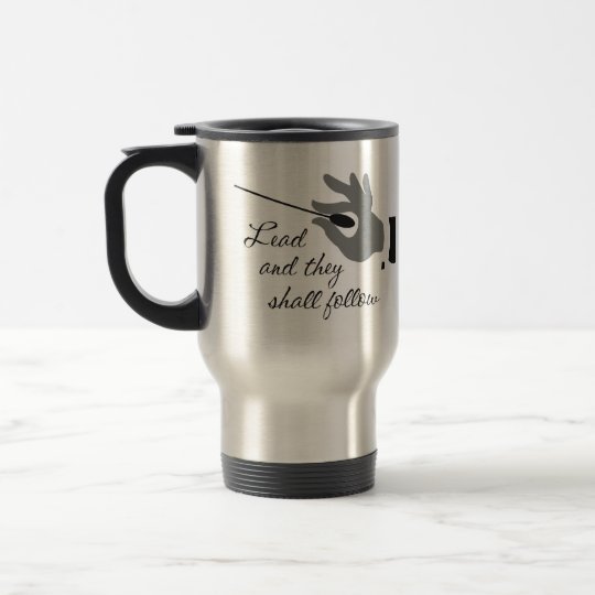 Funny Band Director Gifts Travel Mug