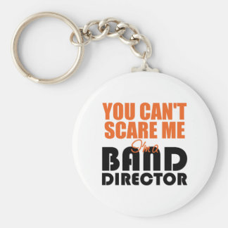 Funny Band Director Keychain