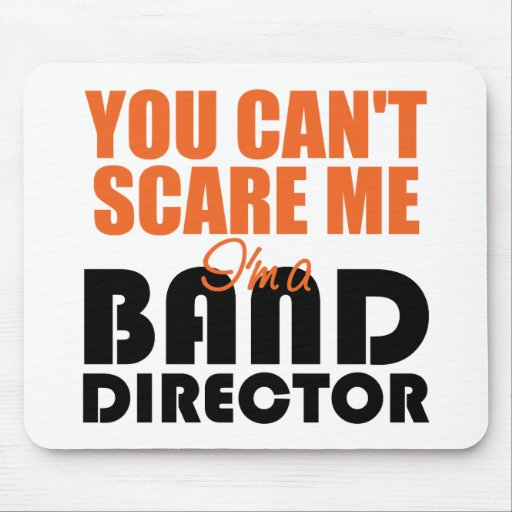 Funny Band Director Mousepad