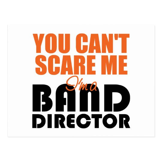 Funny Band Director Postcards
