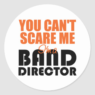 Funny Band Director Stickers